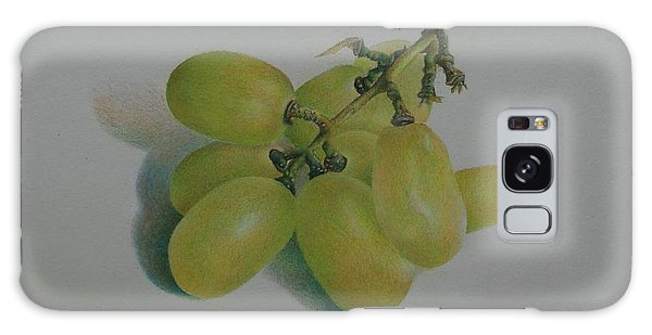 Green Grapes Galaxy Case by Pamela Clements