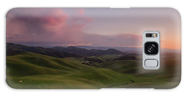 Monterey Galaxy Case - Green Hills Of Monterey County by Bill Roberts