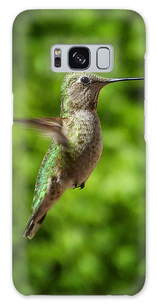 Green Hummingbird Galaxy Case