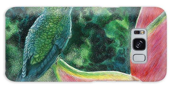 Green Hummingbird Galaxy Case