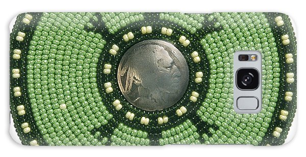 Green Indian Head Turtle Galaxy Case