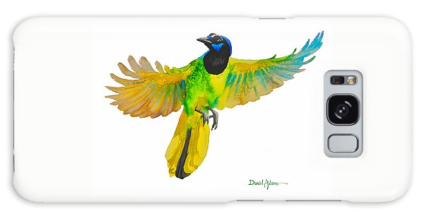 Da175 Green Jay By Daniel Adams Galaxy Case