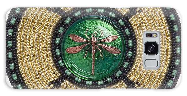 Green Jewel Dragonfly Turtle Galaxy Case