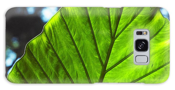 Green Leaf Trilogy II Galaxy Case