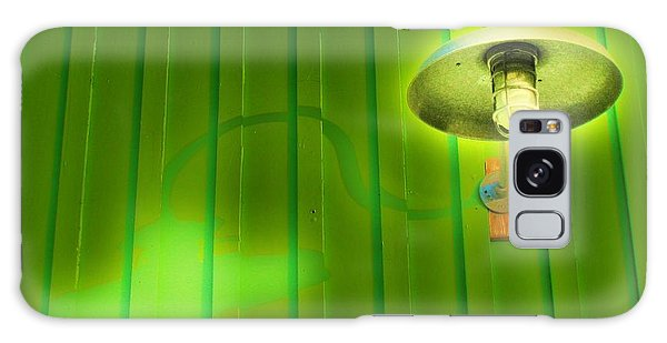 Green Light Galaxy Case by John King