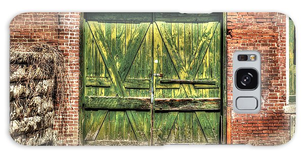 Green Loading Dock Door - Housatonic Galaxy Case