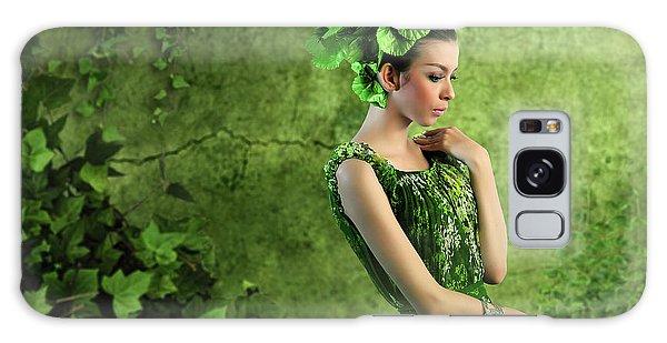 Green Leaf Galaxy Case - Green by M Salim Bhayangkara