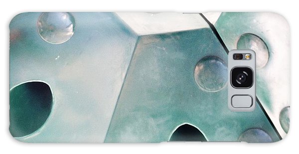 Green Metal Abstract Galaxy Case by Christy Beckwith