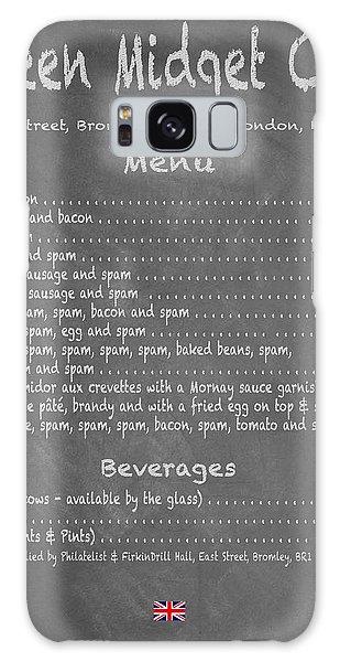 Green Midget Cafe Chalkboard Menu Galaxy Case