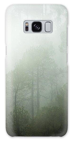 Green Mist Galaxy Case by Rajiv Chopra