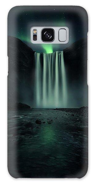 Iceland Galaxy S8 Case - Green Night by Jorge Ruiz Dueso
