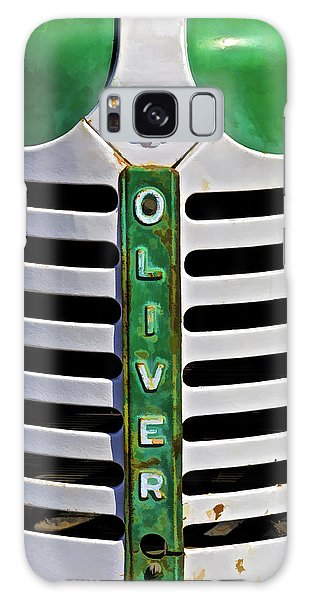 Green Oliver Farm Tractor Galaxy Case