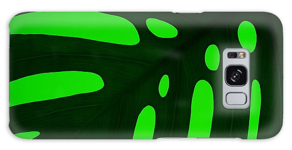 Green On Green Galaxy Case