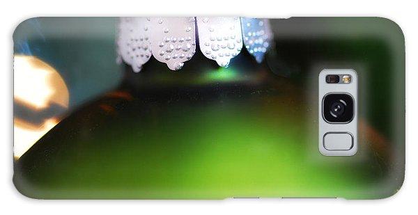 Green Ornament  Galaxy Case by Birgit Tyrrell