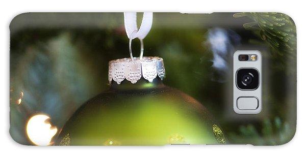 Green Ornament Hanging In Tree Galaxy Case by Birgit Tyrrell