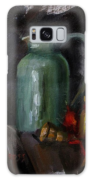 Green Pitcher And Bells Galaxy Case