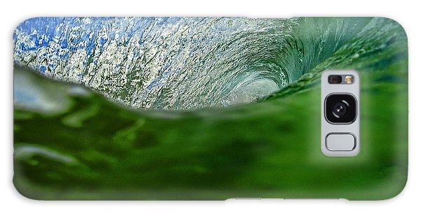 Green Room Wave Galaxy Case