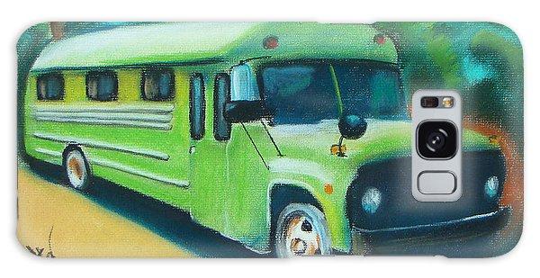 Green School Bus Galaxy Case