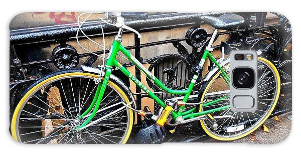 Green Schwinn Bike  Nyc Galaxy Case