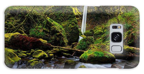 Green Seasons Galaxy Case by Chad Dutson