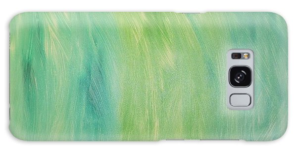 Green Shades Galaxy Case by Barbara Yearty