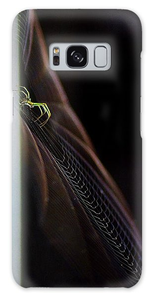Green Spider Galaxy Case