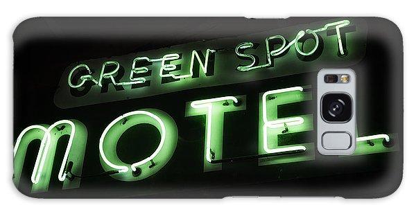 Green Spot Motel Galaxy Case