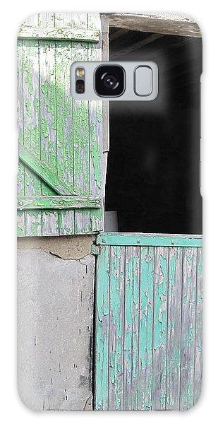 Green Stable Door Galaxy Case