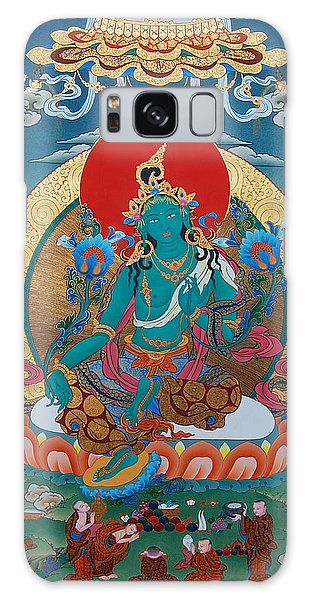 Aspect Galaxy Case - Green Tara by Images of Enlightenment
