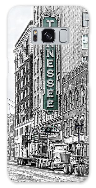 Green Tennessee Theatre Marquee Galaxy Case