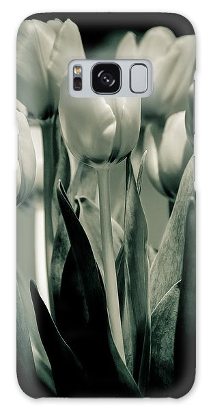 Green Toned Tulip Galaxy Case by Craig Perry-Ollila