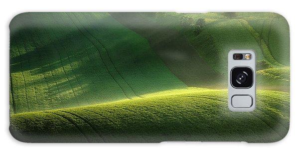 Shrub Galaxy Case - Green Tones Of Spring by Marek Boguszak