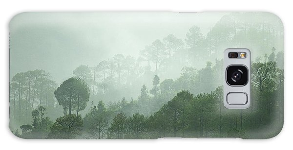 Green Trees Galaxy Case by Rajiv Chopra