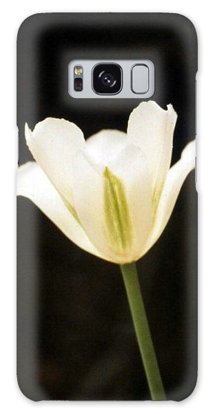 Green Tulip Galaxy Case