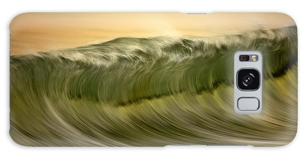 Green Wave #2  C6j7496 Galaxy Case by David Orias