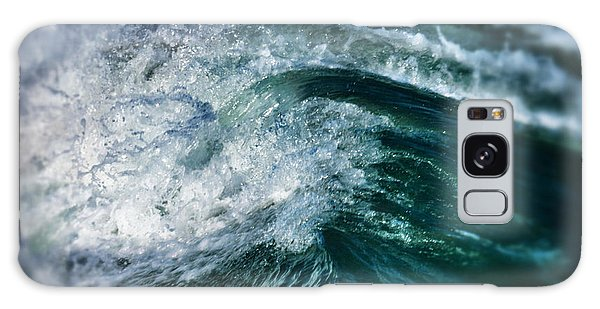 Green Wave Galaxy Case by John Pagliuca