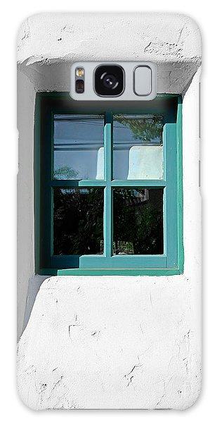 Green Window Galaxy Case