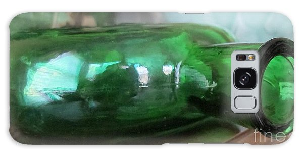 Green With Envy Galaxy Case by Arlene Carmel