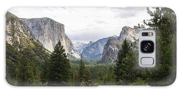 Green Yosemite Valley Galaxy Case