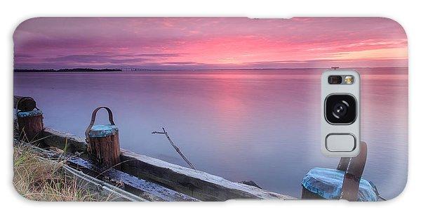 Greenbury Point Sunrise Galaxy Case