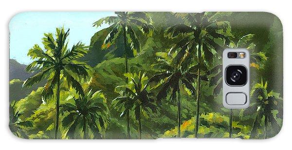 Tree Galaxy Case - Greens Of Kahana by Douglas Simonson