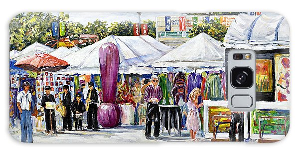 Greenwich Art Fair Galaxy Case