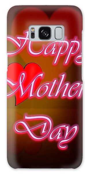 Greeting Card For Mothers 2 Galaxy Case