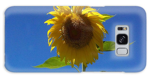 Sunflower With Open Arms Galaxy Case