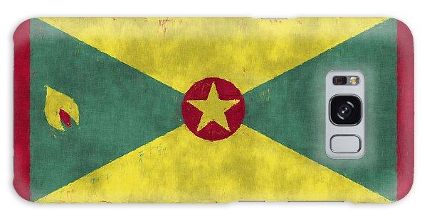 Bahamas Galaxy Case - Grenada Flag by World Art Prints And Designs