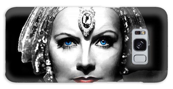 Greta Garbo Portrait Galaxy Case