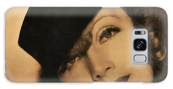 Greta Garbo Galaxy Case