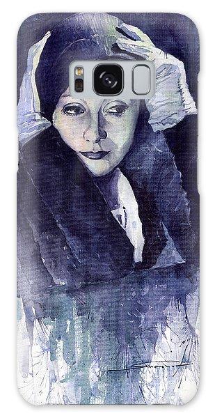 Portret Galaxy Case - Greta Garbo by Yuriy Shevchuk