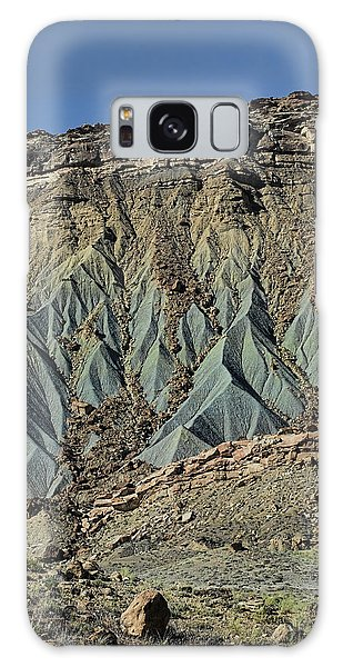 Grey Cliffs In Waterpocket Fold  Galaxy Case