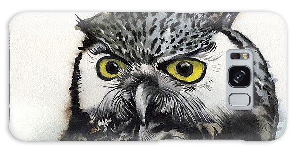 Grey Owl Galaxy Case